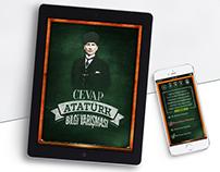 Cevap Atatürk Mobile Quiz Game