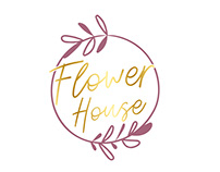 "Création et motion design ""flower house"""