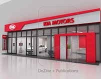 KIA Showroom in Mohandeseen