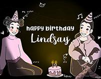 Happy Birthday Lindsay