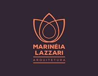 Logotipo Marinéia Lazzari Arquitetura