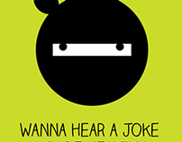 Telerik Ninja Jokes Posters - project of 2012