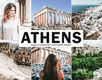 Free Athens Mobile & Desktop Lightroom Preset