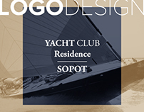 Logo design Yacht Club Residence SOPOT