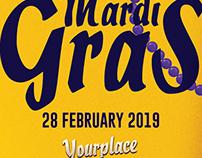 Carnival | Mardi Grass Flyer Template