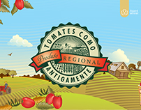 Tomates Como Antigamente - Branding & Packaging