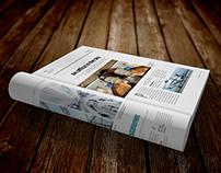 Free A4 Brochure Mockup Vol 2