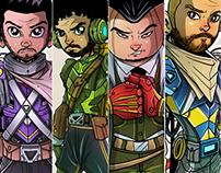 Linkin Park armor Warrior