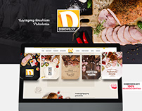 Dobrowolscy Branding company Meat website design