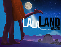 La La Land lobby card design.