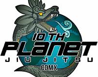 Propuesta Logo 10th Planet JJ