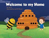 "children's book ""welcome to my home"""