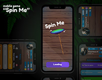 "Mobile game design ""Spin Me"""