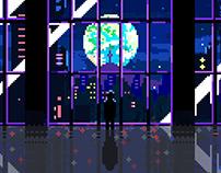 Neo Seoul (Anime) / Pixel-Art
