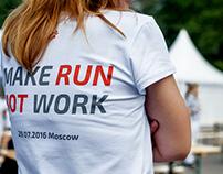 Corporative charity run from Mail.Ru  MAKE RUN NOT WORK