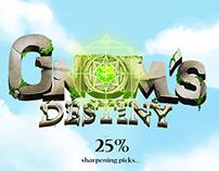 Gnomes destiny UX/UI