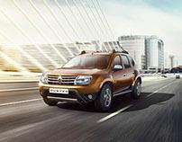 Renault Duster - CGI + Retouching
