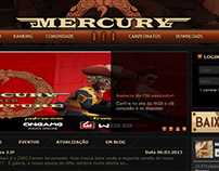 Website Mercury Red