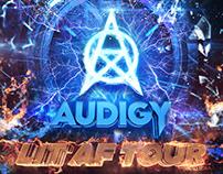 Audigy Lit AF Tour 2018 Flyer