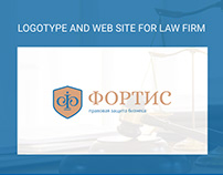 Web site for Law firm