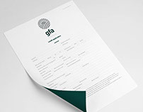Corporate Identity - GFA Finance (Rebrand)