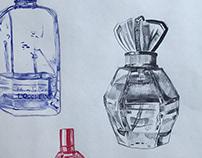 Perfume Bottles-'19