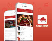 Foodomia - Online Food Delivery (Android/iOS App)