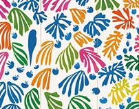 Matisse's Paper-Cut Art Poster Design马蒂斯剪纸艺术 海报设计