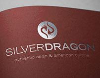 Silver Dragon Logo & Menu