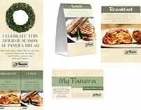 Panera Holiday Branding