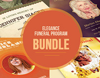 Elegance Funeral Program Bundle