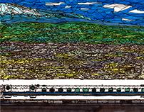 panorama Series Shin-Fuji Station~noon~