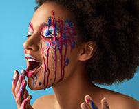 Dripping Makeup / Beauty Retouching