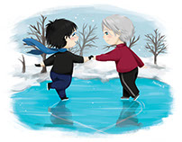 Yuri on Ice Fanart