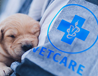 VETCARE - Veterinary care logo design