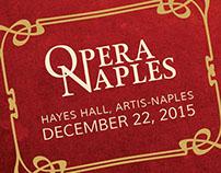Opera Naples - 2015-2016 Season Posters