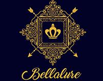 Bellalure logo's design Variations