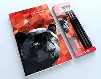 Stabilo - Design Concepts for Notebooks & Pencils 01