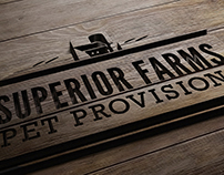 Superior Farms Pet Provision Branding