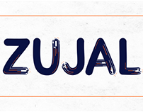 Zujal Animated Typeface