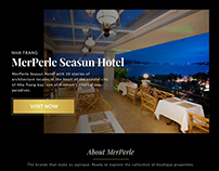 MerPerle Website Concept