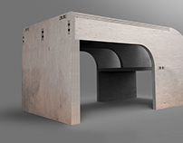 Oblique - Flat Pack Furniture