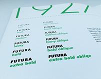 Futura Specimen Book