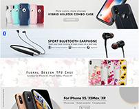 Phone Accessories Banner Design