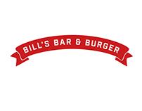 BILL'S BAR & BURGER REBRANDING