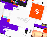 UX UI Branding - Zanoo marketing agency: Taron Badalian