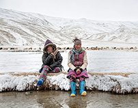 Cold Desert - Changthang, India Himalaya during winter