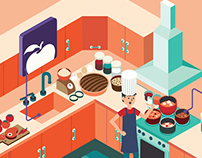 Illustration (apps for cooking)