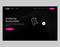 Revolut Metal - website