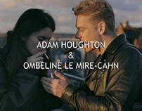 ADAM HOUGHTON & OMBELINE LE MIRE-CAHN in Camden Town